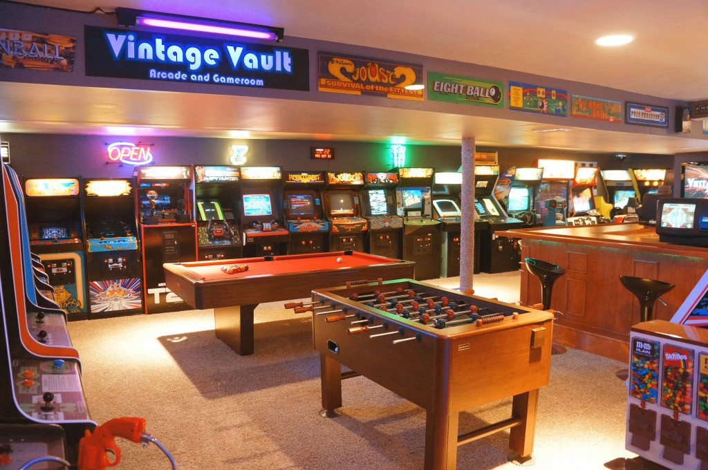 Best ideas about Arcade Game Room . Save or Pin Father & Son Build Insanely Impressive Retro 80s Arcade In Now.