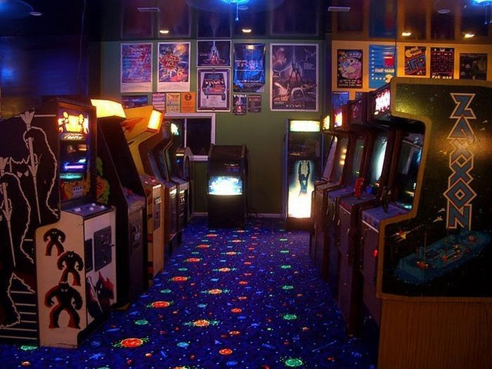 Best ideas about Arcade Game Room . Save or Pin Structure of Masked Barn in Video Game Room XciteFun Now.