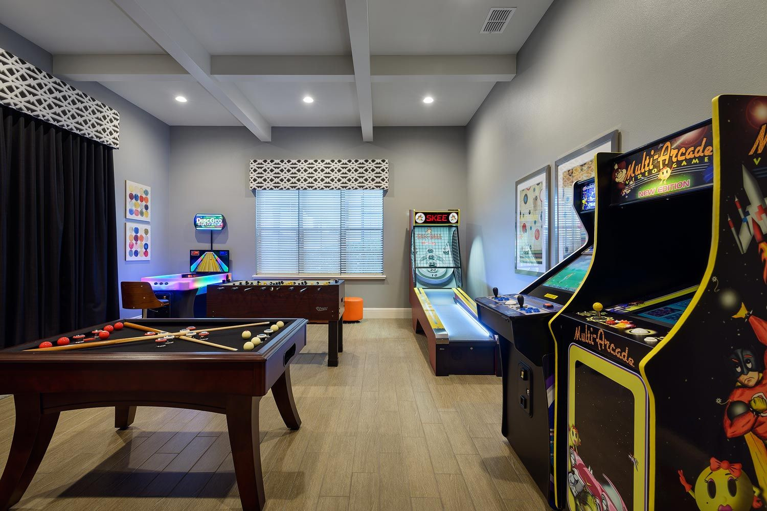 Best ideas about Arcade Game Room . Save or Pin With both old school and new arcade games Skee Ball Now.