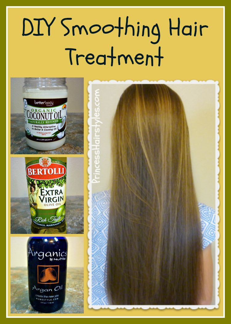 Best ideas about Argan Oil Hair Mask DIY . Save or Pin DIY smoothing hair treatment recipe and tutorial Coconut Now.