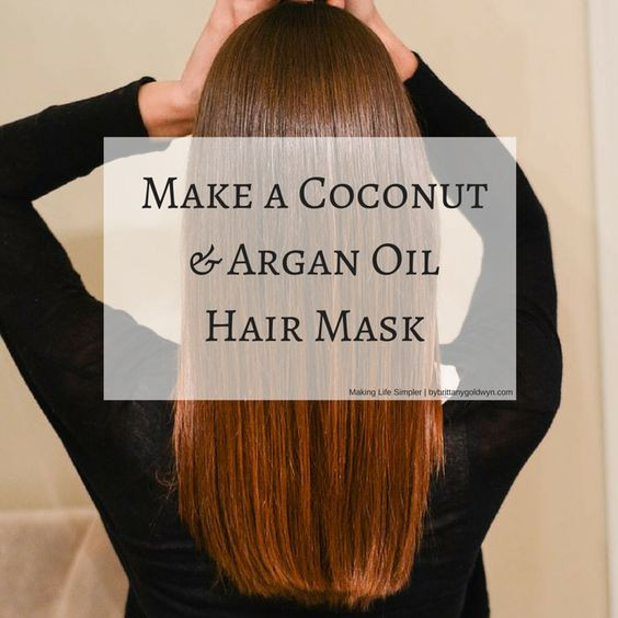 Best ideas about Argan Oil Hair Mask DIY . Save or Pin Learn how to make a hair mask using coconut oil and Argan Now.