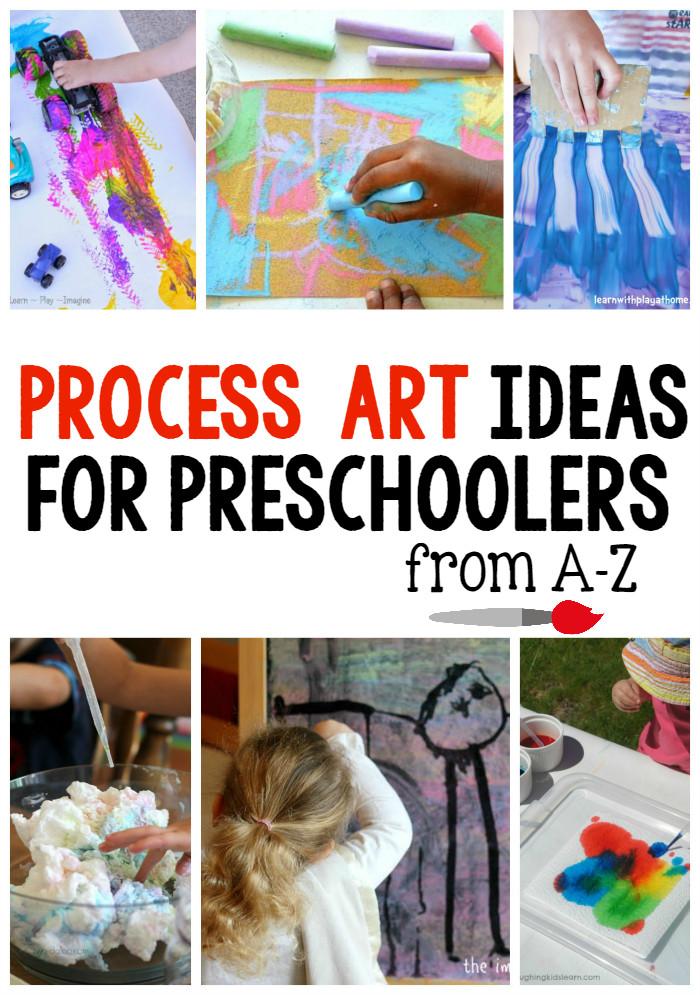 Best ideas about Art Ideas For Preschoolers . Save or Pin A Z Process art ideas for preschoolers The Measured Mom Now.