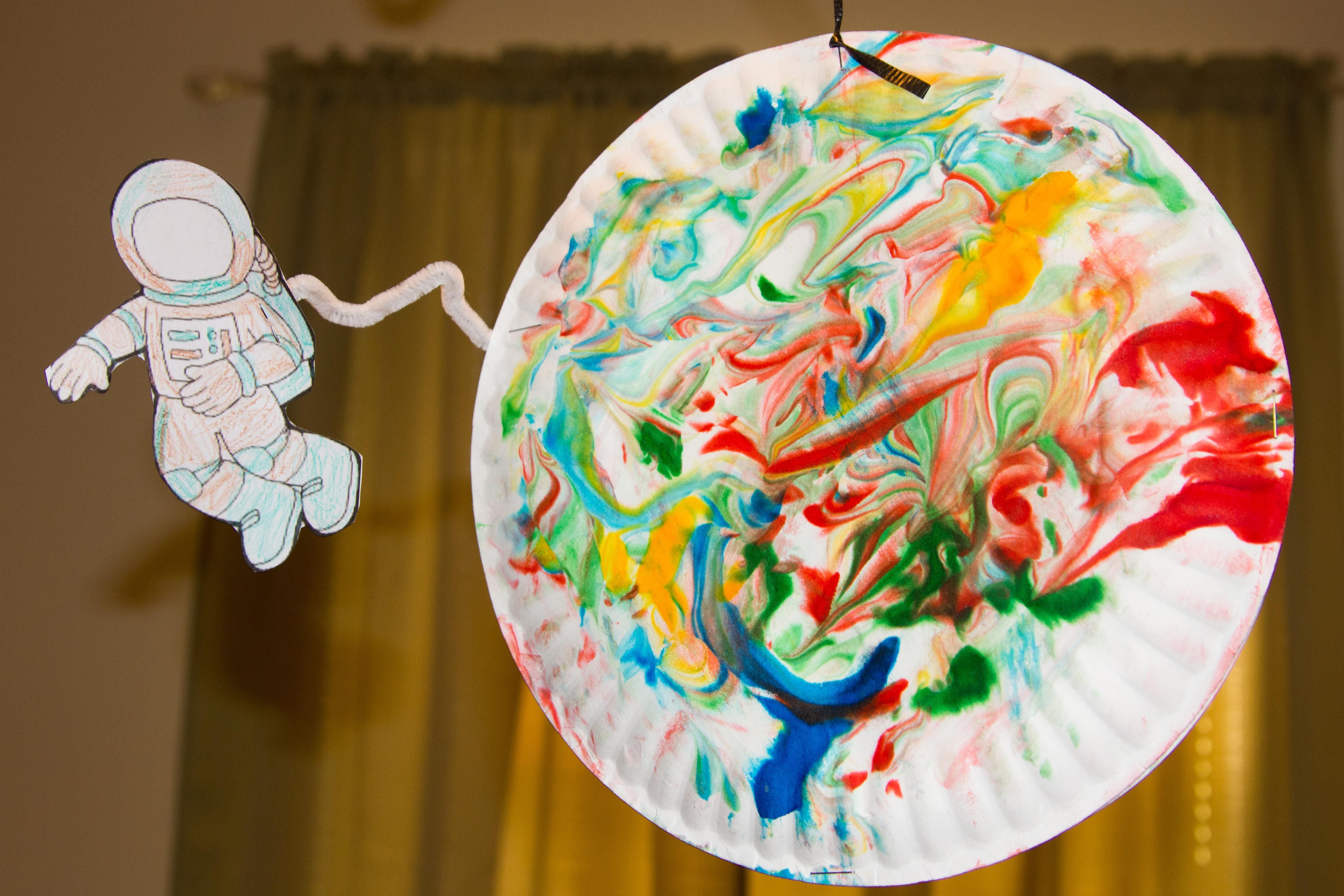 Best ideas about Art Ideas For Preschoolers . Save or Pin Outer Space Crafts Best of Preschool Now.