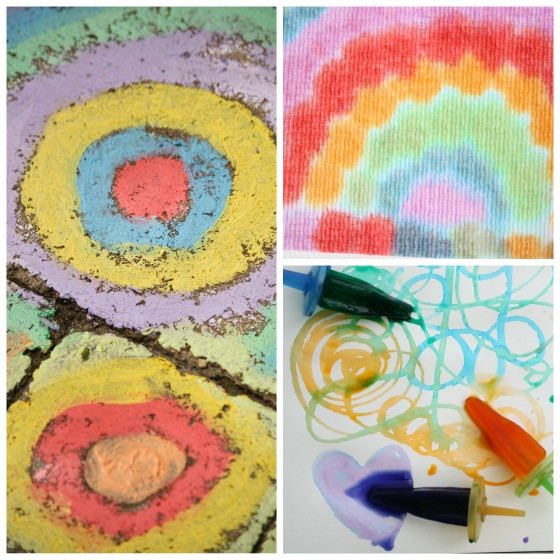 Best ideas about Art Ideas For Preschoolers . Save or Pin 25 Awesome Art Projects for Toddlers and Preschoolers Now.