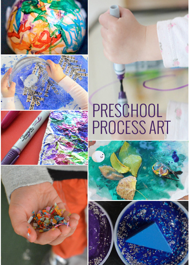 Best ideas about Art Ideas For Preschoolers . Save or Pin 11 Process Art Projects for Preschoolers Now.