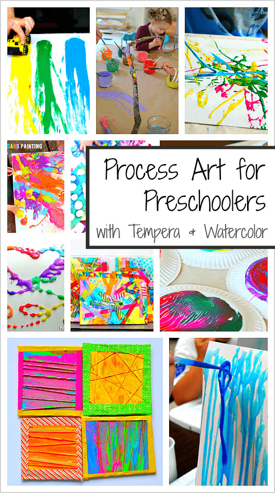Best ideas about Art Project Ideas For Preschoolers . Save or Pin 20 Process Art Activities for Preschoolers Using Paint Now.