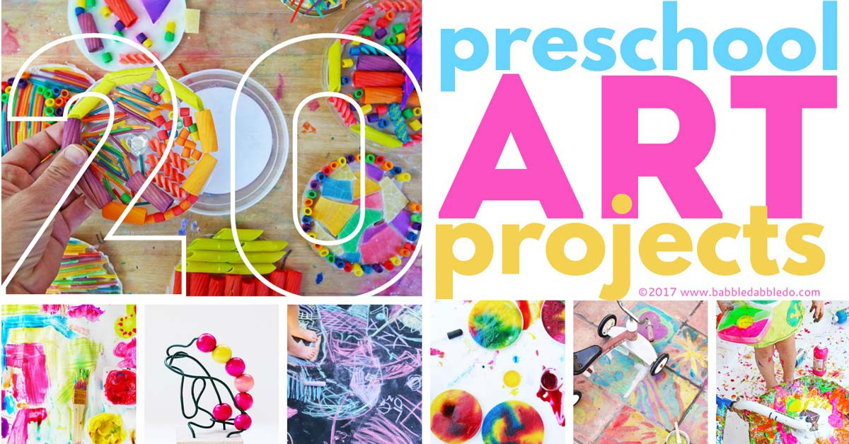 Best ideas about Art Project Ideas For Preschoolers . Save or Pin 20 Preschool Art Projects Babble Dabble Do Now.