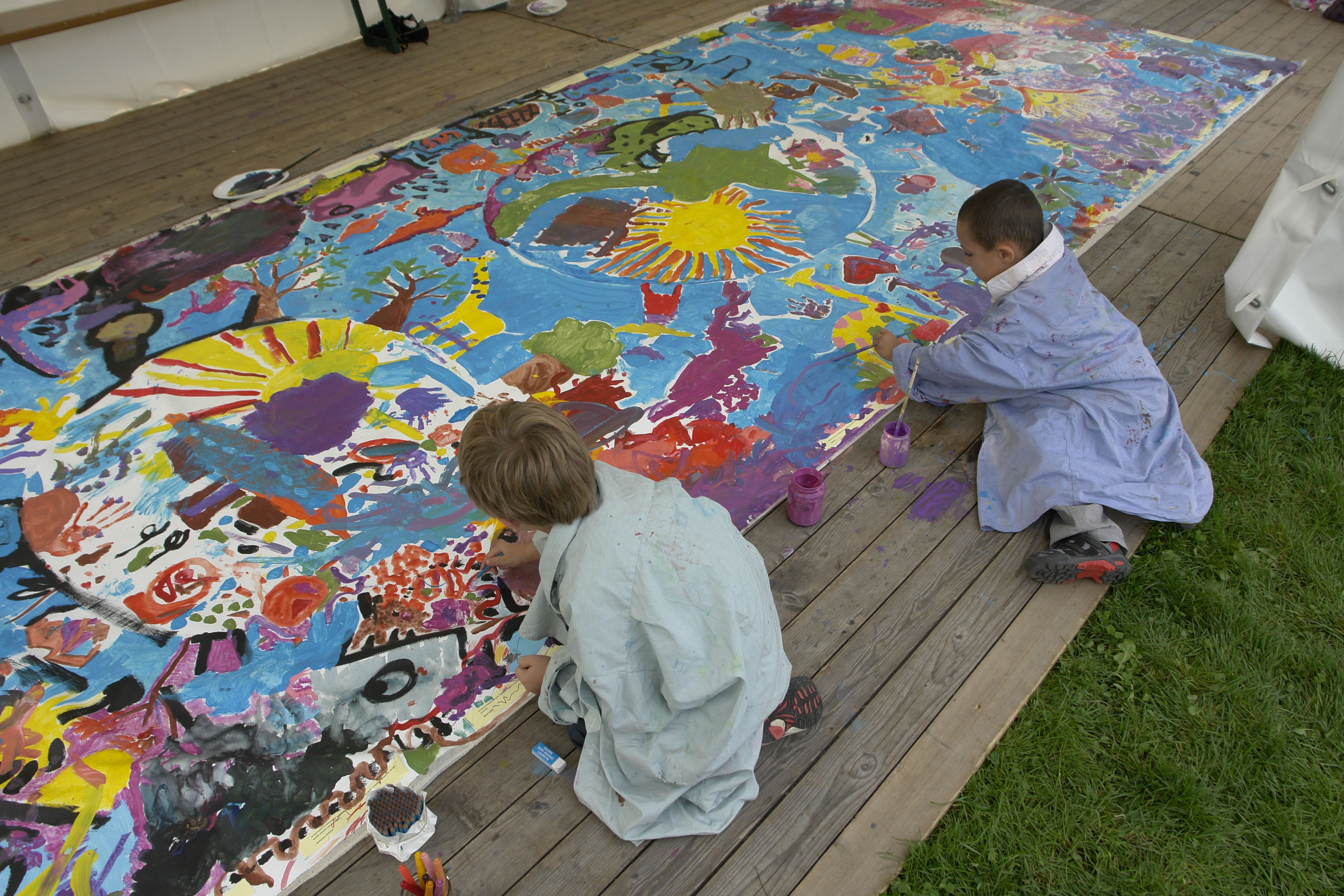 Best ideas about Art With Kids . Save or Pin Promoting Peace Through Art Now.