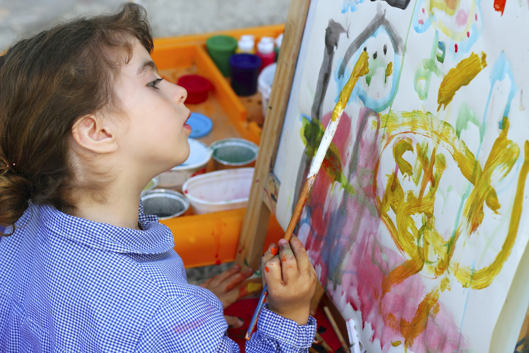 Best ideas about Art With Kids . Save or Pin When you ask for a golden retriever for your birthday and Now.