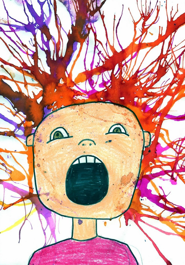 Best ideas about Art With Kids . Save or Pin Scream Blow Art Project · Art Projects for Kids Now.