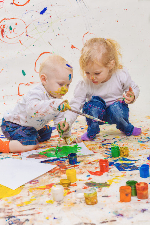Best ideas about Art With Kids . Save or Pin Free Painting with Toddlers the Benefits of Painting Now.