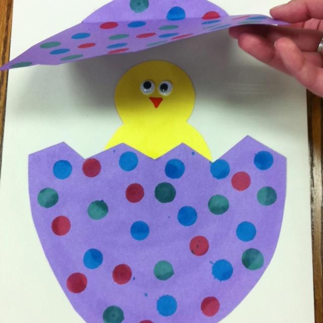 Best ideas about Arts And Crafts For Preschoolers . Save or Pin easter arts and crafts for preschoolers Now.