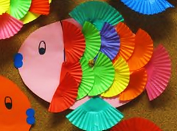 Best ideas about Arts And Crafts For Preschoolers . Save or Pin 9 Unique Fish Craft Ideas For Kids and Toddlers Now.
