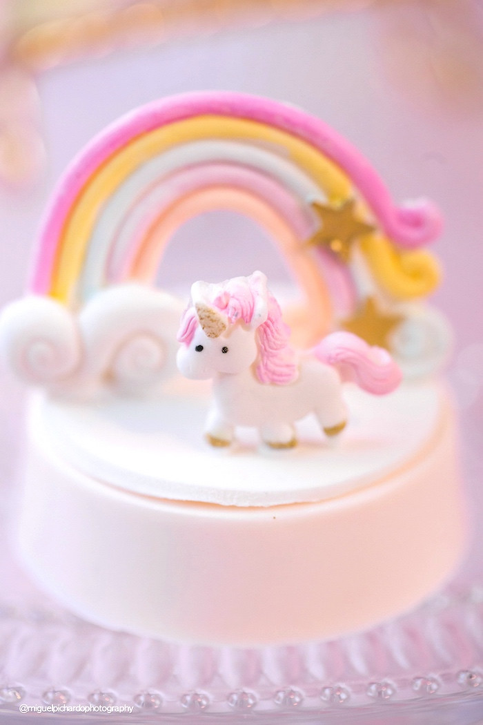 Best ideas about Babies Birthday Decorations . Save or Pin Kara s Party Ideas Baby Unicorn 1st Birthday Party Now.