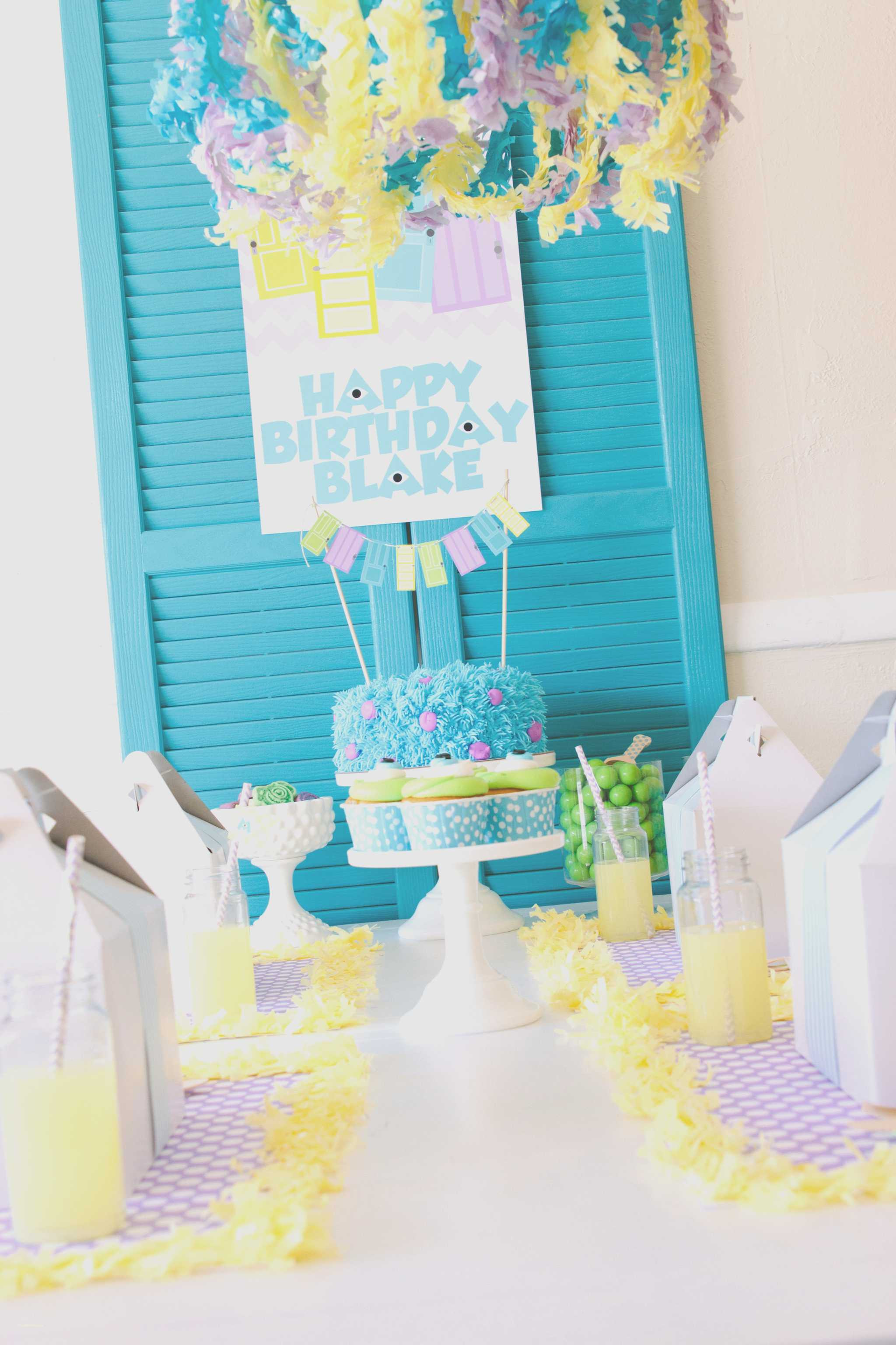 Best ideas about Babies Birthday Decorations . Save or Pin Awesome Monsters Inc Party Decorations Centerpieces Baby Now.