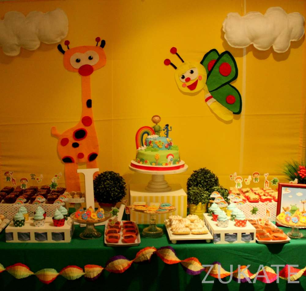 Best ideas about Babies Birthday Decorations . Save or Pin Lautaro´s Baby TV party Birthday Party Ideas Now.