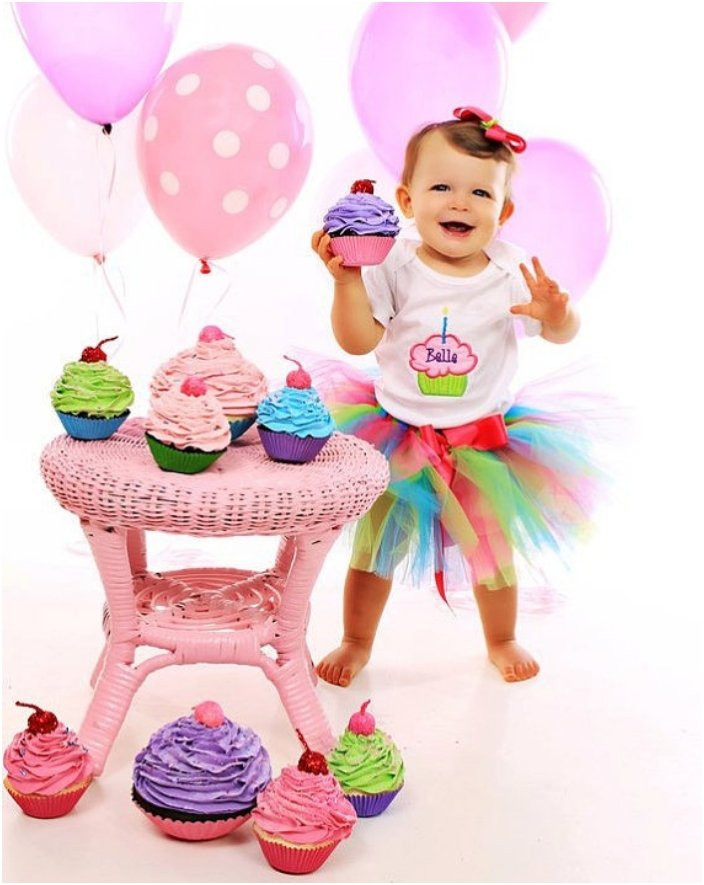 Best ideas about Baby 1St Birthday Gift Ideas . Save or Pin 22 Fun Ideas For Your Baby Girl s First Birthday Shoot Now.