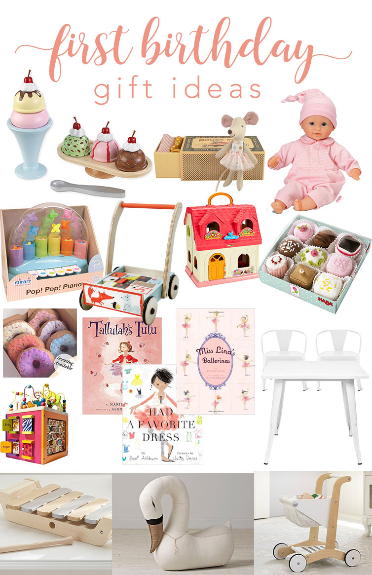 Best ideas about Baby 1St Birthday Gift Ideas . Save or Pin 1st Birthday Gift Ideas For Baby Gift Ftempo Now.