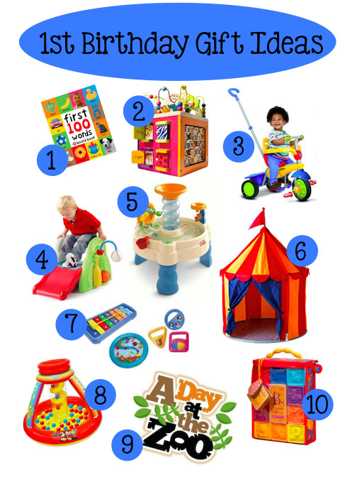 Best ideas about Baby 1St Birthday Gift Ideas . Save or Pin Baby's 1st Birthday Gift Ideas Now.