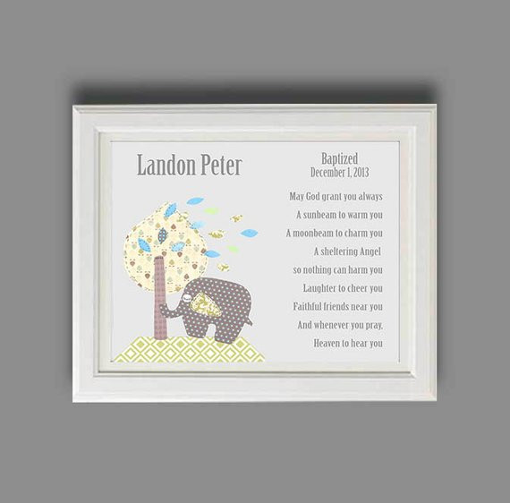 Best ideas about Baby Baptism Gift Ideas . Save or Pin Baby Boy Baptism Gift Christening Gifts for Boys Now.