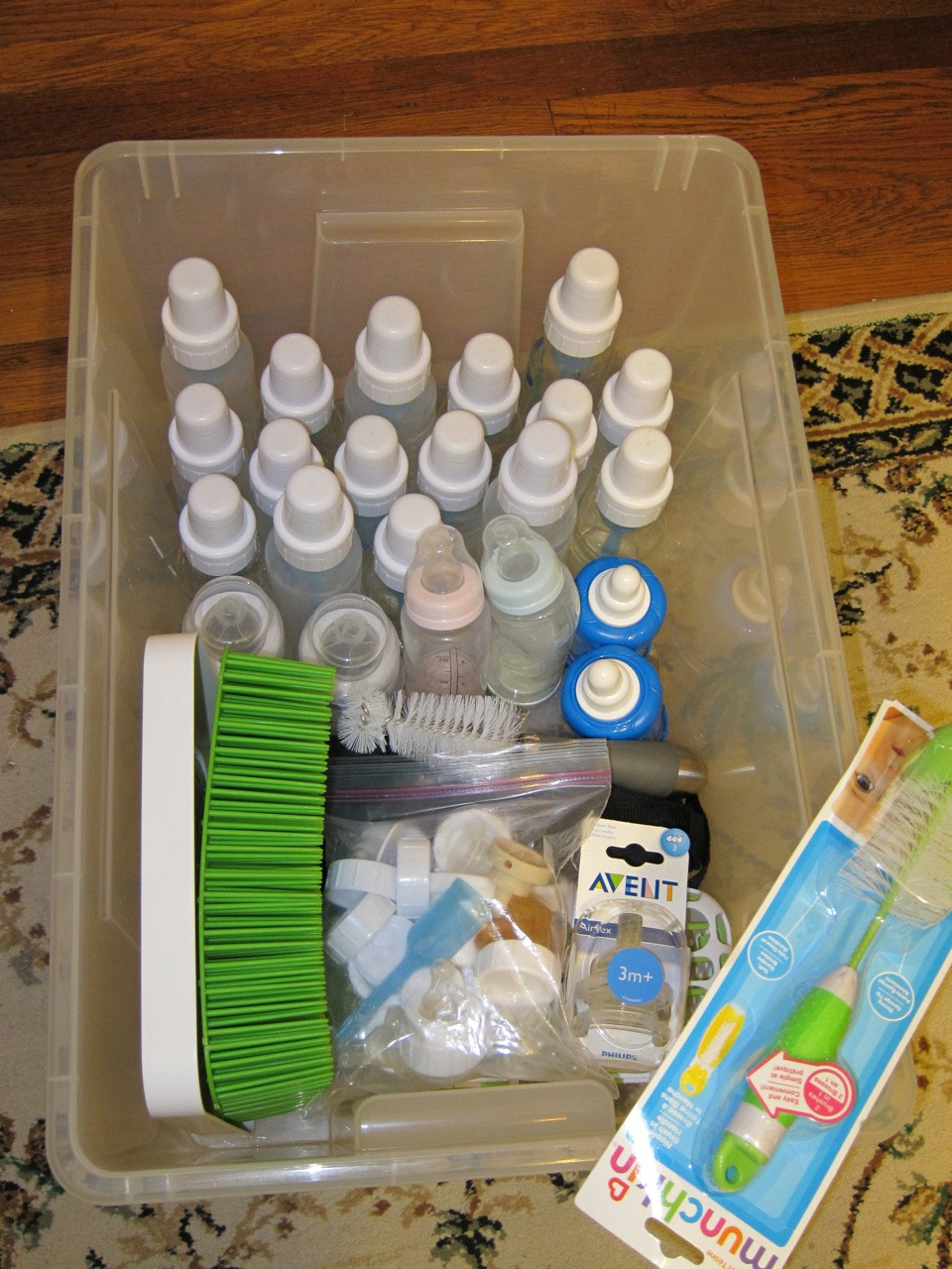 Best ideas about Baby Bottle Storage Ideas . Save or Pin Storing Baby Bottles and Baby Food Containers Now.
