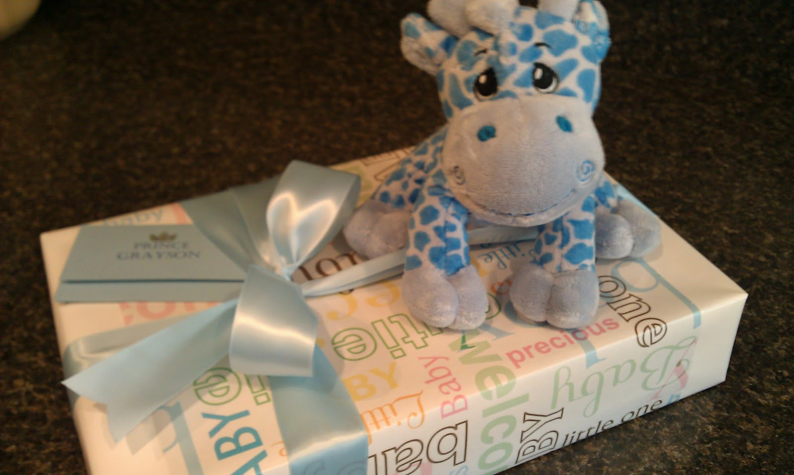 Best ideas about Baby Boy Gift Wrapping Ideas . Save or Pin the HAPPY home Cute Gift Wrap idea for Baby Gift Now.