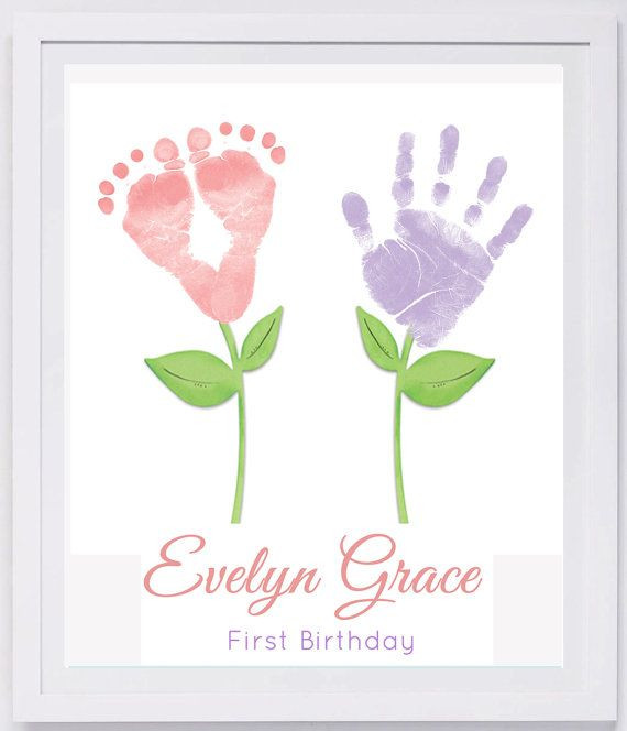 Best ideas about Baby Footprint Craft Ideas . Save or Pin Baby Footprint Art Forever Prints hand and footprint Now.