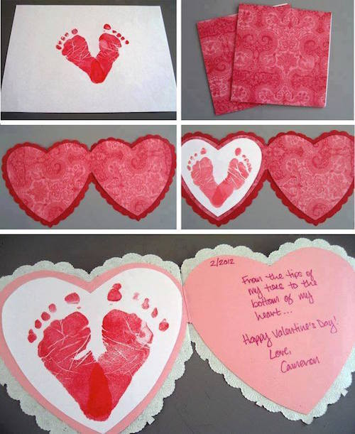 Best ideas about Baby Footprint Craft Ideas . Save or Pin The BEST Hand and Footprint Art Ideas Kitchen Fun With Now.