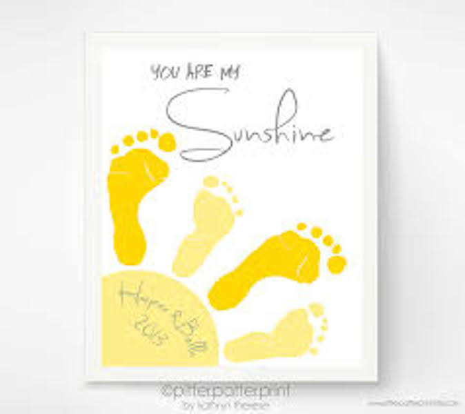 Best ideas about Baby Footprint Craft Ideas . Save or Pin Creative Ideas for Baby Footprint Art Birth Partner Now.