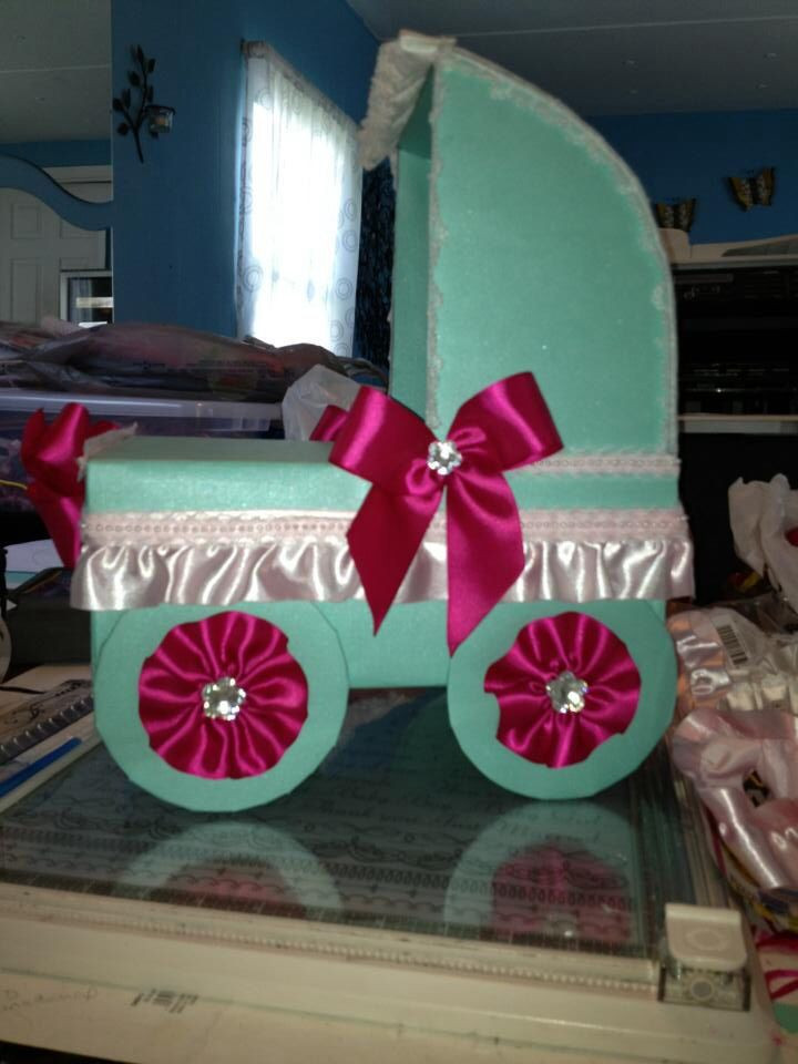 Best ideas about Baby Shower Gift Card Holder Ideas . Save or Pin Baby shower $ and t card box My creations Now.