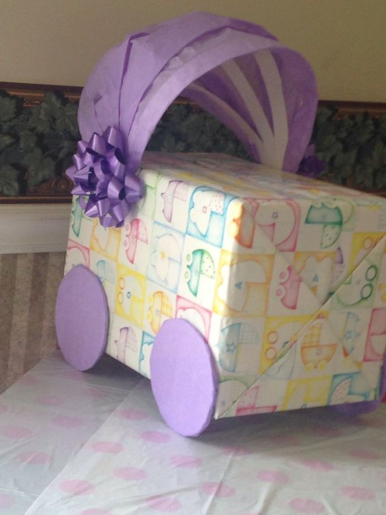 Best ideas about Baby Shower Gift Card Holder Ideas . Save or Pin Baby shower t card box 1 box 2 Gift wrapping paper Now.