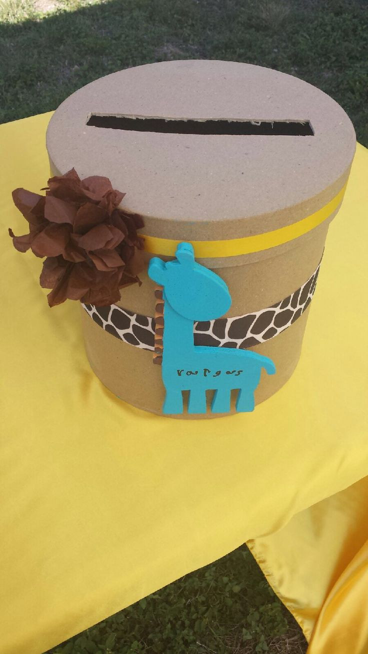 Best ideas about Baby Shower Gift Card Holder Ideas . Save or Pin Baby Shower t card box Now.