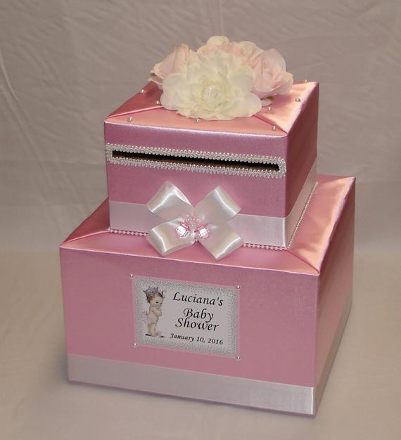 Best ideas about Baby Shower Gift Card Holder Ideas . Save or Pin Baby Shower Card Box any colors Now.