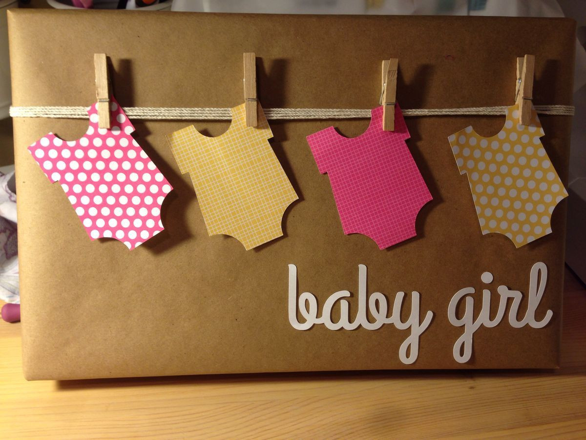 Best ideas about Baby Shower Gift Wrap Ideas . Save or Pin Baby shower t wrap If any one knows the original Now.