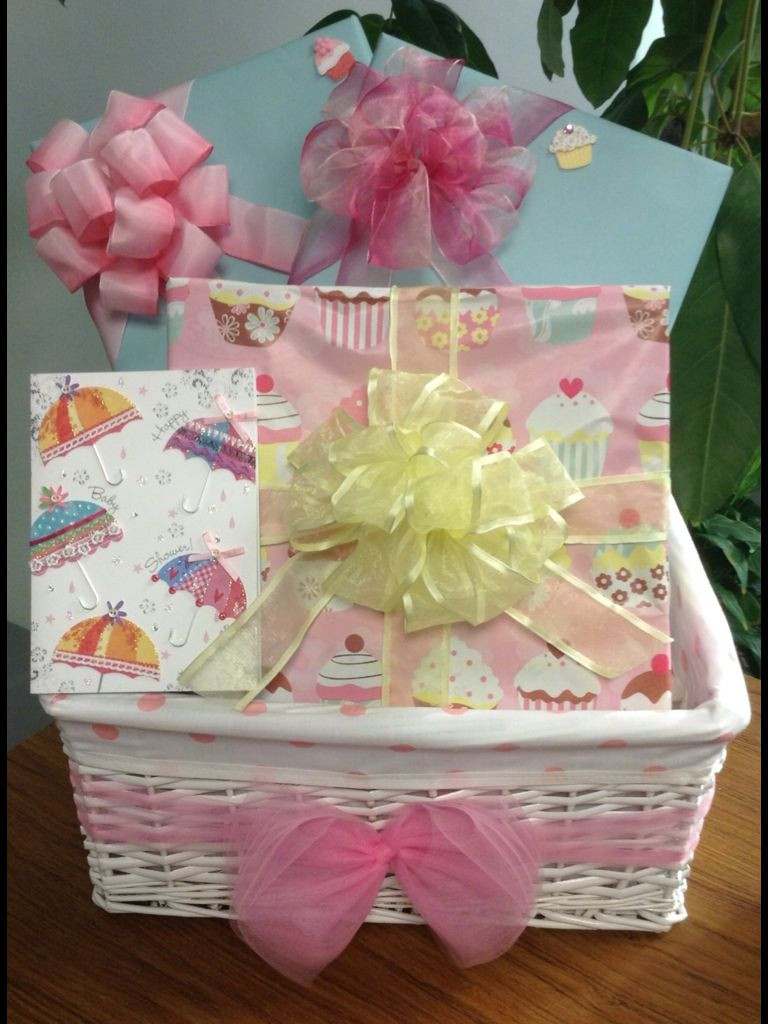 Best ideas about Baby Shower Gift Wrap Ideas . Save or Pin Baby shower t basket t wrapping ideas for baby Now.