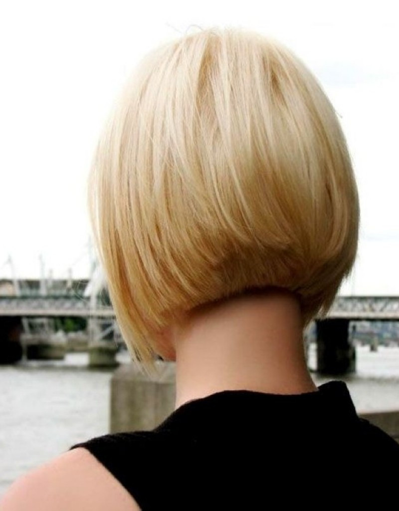 Best ideas about Back Of Bob Haircuts . Save or Pin short layered bob hairstyles front and back view Now.