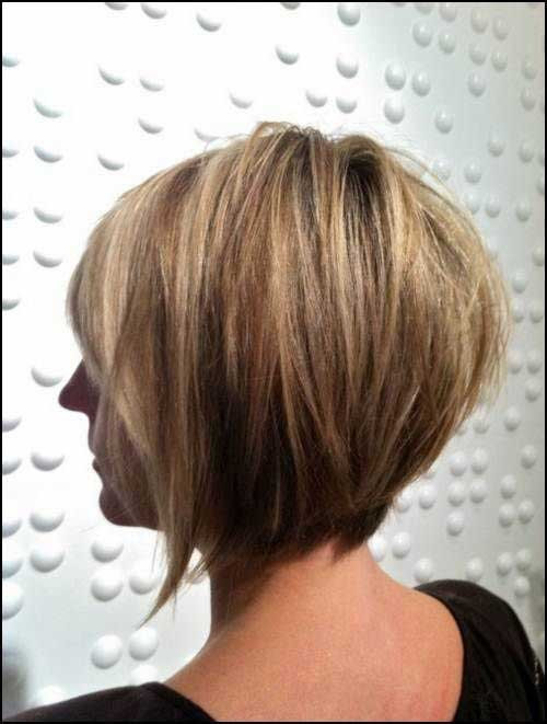 Best ideas about Back Of Bob Haircuts . Save or Pin 15 Layered Bob Back View Now.