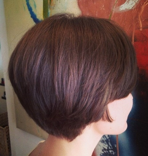 Best ideas about Back Of Bob Haircuts . Save or Pin Stacked Swing Bob Now.
