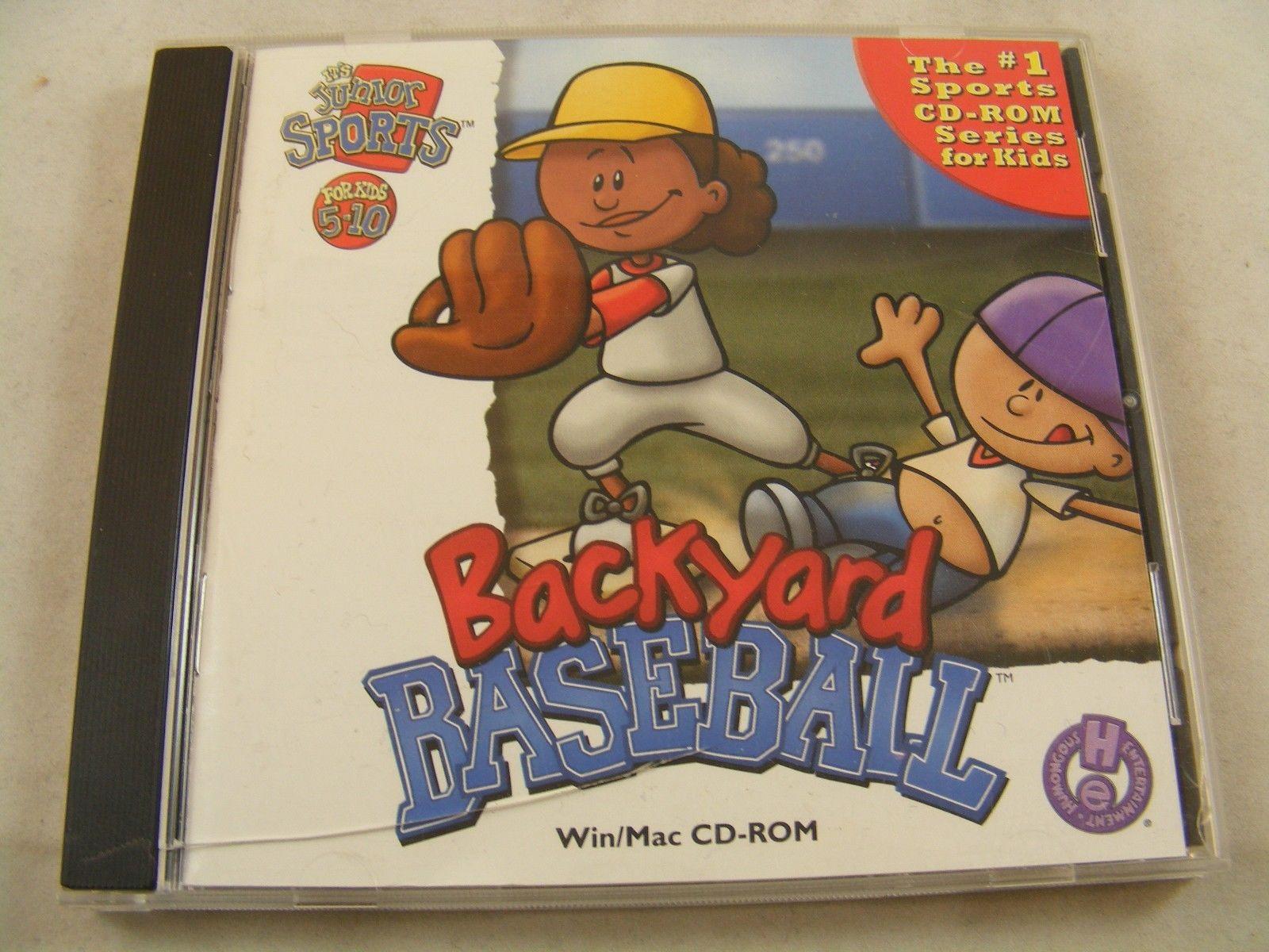 Best ideas about Backyard Baseball Mac . Save or Pin Backyard Baseball Pc 1997 2000 Game Cd Rom Kids Win mac Now.