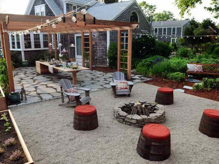 Best ideas about Backyard Deck Ideas On A Budget . Save or Pin Backyard Ideas on a Bud Now.