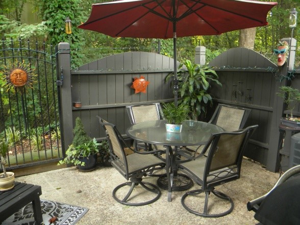 Best ideas about Backyard Deck Ideas On A Budget . Save or Pin 15 Fabulous Small Patio Ideas To Make Most Small Space Now.