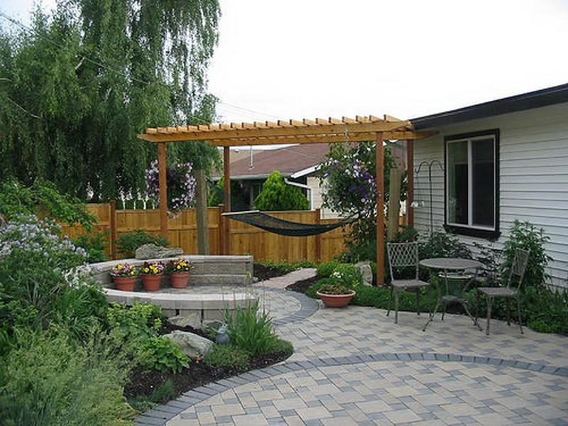 Best ideas about Backyard Deck Ideas On A Budget . Save or Pin Great Landscaping Ideas on a Bud Backyard Home Now.