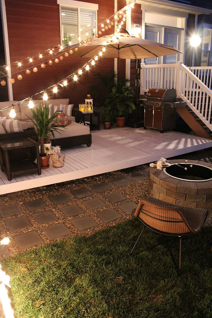 Best ideas about Backyard Deck Ideas On A Budget . Save or Pin How To Build A Simple Diy Deck Bud Best Backyard Now.
