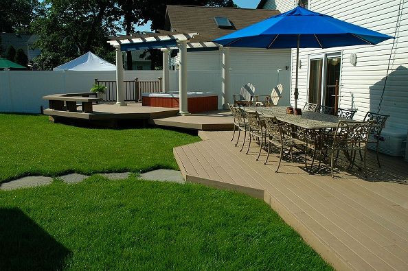 Best ideas about Backyard Deck Ideas On A Budget . Save or Pin 3 Ideas for Bud Friendly Backyard Escapes Now.