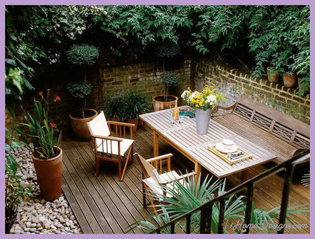 Best ideas about Backyard Deck Ideas On A Budget . Save or Pin Outdoor deck designs small yard 1HomeDesigns Now.