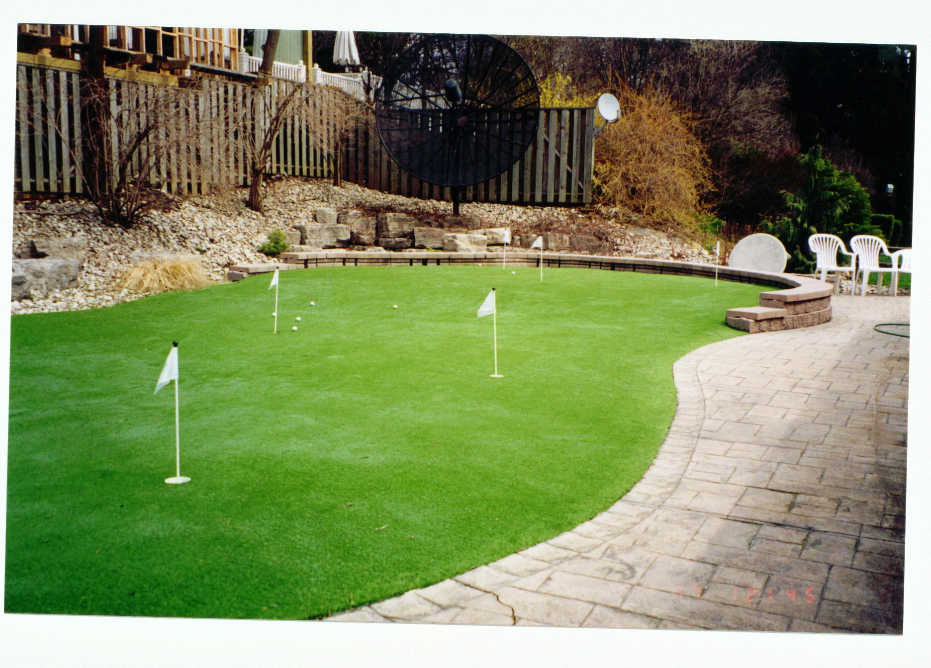 Best ideas about Backyard Mini Golf . Save or Pin Easy Backyard Mini Golf — Design & Ideas Backyard Mini Golf Now.
