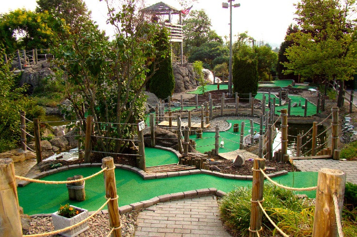 Best ideas about Backyard Mini Golf . Save or Pin Backyard miniature golf course 5 Now.