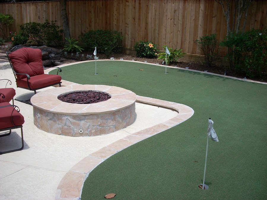 Best ideas about Backyard Mini Golf . Save or Pin Backyard Mini Golf Area Now.