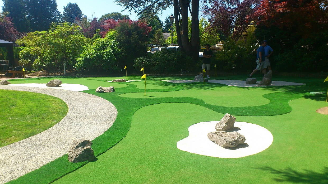 Best ideas about Backyard Mini Golf . Save or Pin How to Create a Mini Golf Court in Your Backyard Now.