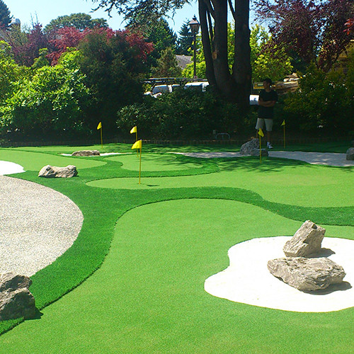 Best ideas about Backyard Mini Golf . Save or Pin Minigolf in Your Backyard Now.